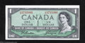 Canadian Currency: , BC-37a $1 1954 Choice Crisp Uncirculated. This Modified ...