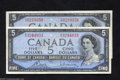Canadian Currency: , Two $5 Modified Portraits.