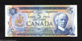 Canadian Currency: , BC-48b $5 1972 Gem Crisp Uncirculated. This better Lawson-...