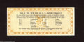 Miscellaneous:Other, New Size of U.S. Paper Currency Bank Advertising Note, 1929.