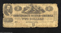 Confederate Notes:1862 Issues, T42 $2 1862. This heavily circulated Deuce has several ...