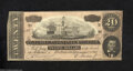 Confederate Notes:1864 Issues, T67 $20 1864. This 5 Series $20 has a small corner fold.
