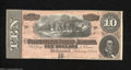 Confederate Notes:1864 Issues, T68 $10 1864. This attractive 1st Series $10 is of ...