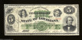 Obsoletes By State:Louisiana, New Orleans, LA- State of Louisiana $5 Apr. 20, 1866