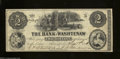 Obsoletes By State:Michigan, Ann Arbor, MI- Bank of Washtenaw $2 May 1, 1854