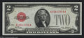 Error Notes:Skewed Reverse Printing, Fr. 1501 $2 1928 Legal Tender Note. Gem Crisp Uncirculated.