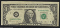 Error Notes:Miscellaneous Errors, Fr. 1913-G $1 1985 Federal Reserve Note. Fine-Very Fine. ...