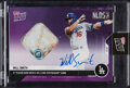Baseball Cards:Singles (1970-Now), 2020 Topps Now Will Smith (Autograph, Game-Used Base) #393B, #13/25....