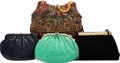 Luxury Accessories:Bags, Judith Leiber Set of Four: Assorted Evening Bags. Condition: 3. See Extended Condition Report for S...