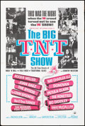 """Movie Posters:Rock and Roll, The Big T.N.T. Show (American International, 1966). Folded, Very Fine-. One Sheet (27"""" X 41""""). Rock and Roll.. ..."""