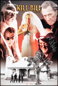 """Movie Posters:Action, Kill Bill: Vol. 2 (Pyramid Posters, 2004). Rolled, Very Fine+. Autographed British Poster (24"""" X 36""""). Action.. ..."""