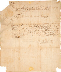 William Penn Appointment Signed