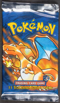 Memorabilia:Trading Cards, Pokémon Shadowless Base Set Sealed Booster Pack (Wizards of the Coast, 1999)....
