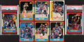 Basketball Cards:Lots, 1986 Fleer Basketball Collection with Cards (96) & Stickers (8). ...