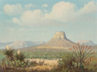 G. Harvey (American, 1933-2017) The Highest Point Oil on canvas 9 x 12 inches (22.9 x 30.5 cm) Signed lower left: