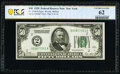 Small Size:Federal Reserve Notes, Fr. 2100-B $50 1928 Federal Reserve Note. PCGS Banknote Uncirculated 62.. ...