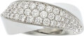 Estate Jewelry:Rings, Cartier Diamond, White Gold Ring, French. ...