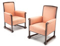 Furniture, Charles Sumner Greene (American, 1868-1957) and Henry Mather Greene (American, 1870-1954). Pair of Armchairs for the C... (Total: 2 Items)
