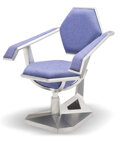 Furniture, Frank Lloyd Wright (American, 1867-1959). Casual Armchair for Price Tower, Bartlesville, Oklahoma, circa...