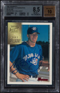 Baseball Cards:Singles (1970-Now), 1997 Bowman Certified Autograph Roy Halladay (Blue Ink) #CA35 BGS NM-MT+ 8.5, Auto 10....