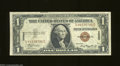 Small Size:World War II Emergency Notes, Fr. 2300 $1 1935-A Silver Certificate. Extremely Fine.