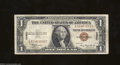 Small Size:World War II Emergency Notes, Fr. 2300 $1 1935-A Hawaii Silver Certificate. Very Fine.