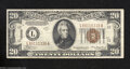 Small Size:World War II Emergency Notes, Fr. 2305 $20 1934-A Hawaii Federal Reserve Note. Extremely ...