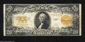 Large Size:Gold Certificates, Fr. 1187 $20 1922 Gold Certificate Very Fine. Crisp and ...