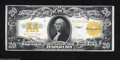 Large Size:Gold Certificates, Fr. 1187 $20 1922 Gold Certificate Very Fine+. The inks ...
