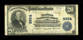 National Bank Notes:Oklahoma, Kingfisher, OK - $20 1902 Plain Back Fr. 653 The Peoples NB Ch. # 9954. ...
