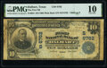 Dalhart, TX - $10 1902 Plain Back Fr. 624 The First National Bank Ch. # (S)6762 PMG Very Good 10.</