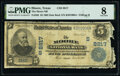 National Bank Notes:Texas, Moore, TX - $5 1902 Date Back Fr. 592 The Moore National Bank Ch. # (S)8817 PMG Very Good 8.. ...
