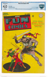 More Fun Comics #101 (DC, 1945) CBCS Conserved VG 4.0 Cream to off-white pages