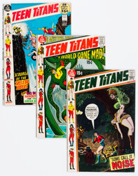 Teen Titans Group of 3 (DC, 1970-72).... (Total: 3 Comic Books)