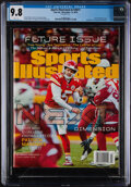 Football Collectibles:Others, 2018 Sports Illustrated First Patrick Mahomes Cover (11/19) CGC 9.8....