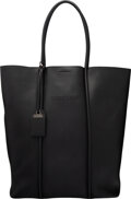 """Luxury Accessories:Bags, Tom Ford Black Leather Large Tote Bag. Condition: 2. 13"""" Width x 15"""" Height x 6"""" Depth. ...."""
