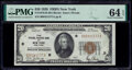 Small Size:Federal Reserve Bank Notes, Fr. 1870-B $20 1929 Federal Reserve Bank Note. PMG Choice Uncirculated 64 EPQ.. ...