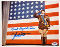 Movie/TV Memorabilia:Autographs and Signed Items, George C. Scott Signed and Inscribed Patton