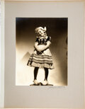 Movie/TV Memorabilia:Photos, Shirley Temple Owned Large Portrait Photo Taken and Signed...