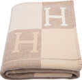 """Luxury Accessories:Home, Hermès Coco & Camomille Avalon III Blanket. Condition: 1. 53"""" Width x 67"""" Length. ..."""