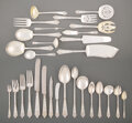 Silver & Vertu, A Two Hundred Fifteen-Piece Gorham Mfg. Co. Silver Lansdowne Pattern Flatware Service for Twelve, Providence, Rh... (Total: 215 Items)