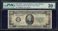Small Size:Federal Reserve Notes, Fr. 2058-F* $20 1934D Wide Federal Reserve Star Note. PMG Very Fine 30 EPQ.. ...