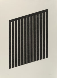 Donald Judd (1928-1994) Untitled, 1978-79 Aquatint on wove paper 40 x 29-1/2 inches (101.6 x 74.9