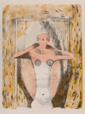 Prints & Multiples, Rufino Tamayo (1899-1991). Torse de Femme, from Mujeres, 1969. Lithograph in colors on wove paper. 30 x 22-1/2 inche...