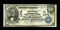 National Bank Notes:Pennsylvania, Butler, PA - $50 1902 Date Back Fr. 670 The Butler County NB Ch. #(E)4374. ...