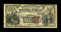 National Bank Notes:Maryland, Bel Air, MD - $20 1882 Brown Back Fr. 497 The Second NB Ch. #(E)3933. ...