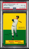 Baseball Cards:Singles (1960-1969), 1964 Topps Stand-Up Mickey Mantle PSA VG-EX 4....