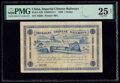World Currency, China Imperial Chinese Railways, Shanghai 1 Dollar 2.1.1899 Pick A59 S/M#S13-1 PMG Very Fine 25 Net.. ...