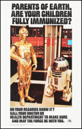"""Movie Posters:Science Fiction, Star Wars Lot (U.S. Department of Health, Education, and Welfare, 1977). Rolled, Very Fine+. First Printing Poster (14"""" X 22..."""