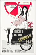 """Movie Posters:Adult, Night of the Spanish Fly & Other Lot (Cal-Vista International, 1976). Folded, Very Fine-. One Sheets (2) (27"""" X 41""""). Adult.... (Total: 2 Items)"""